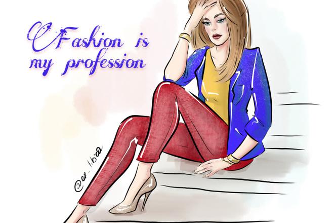 Создам fashion иллюстрацию 16 - kwork.ru