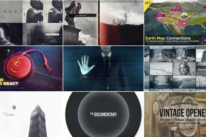 4050 Видео шаблонов для After Effects + Подарок 13 - kwork.ru