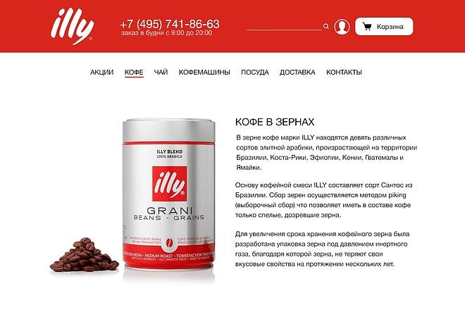 Качественный дизайн интернет-магазина 2 - kwork.ru