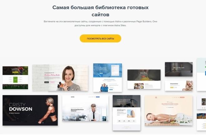 ПАК 1000 шаблонов и дополнений для WordPress 11 - kwork.ru