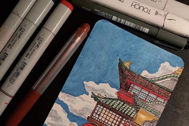 Нарисую любую открытку в диджитал формате или вручную 4 - kwork.ru
