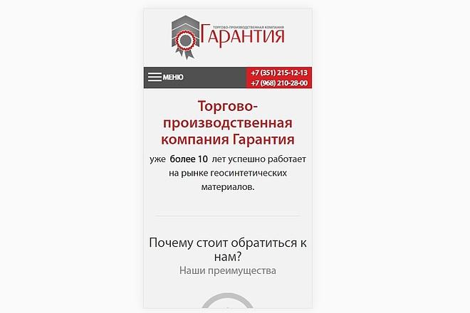 Адаптация сайта под мобильные устройства 24 - kwork.ru