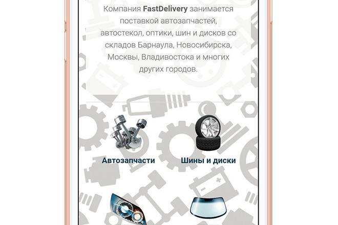 Разработка мобильного приложения под ключ 12 - kwork.ru