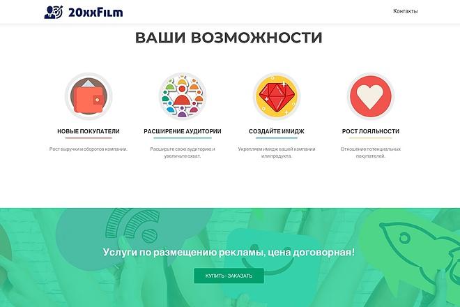 Создание одностраничника на Wordpress 32 - kwork.ru