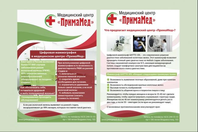 Дизайн постера 44 - kwork.ru