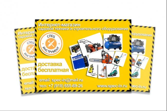 Дизайн постера 43 - kwork.ru