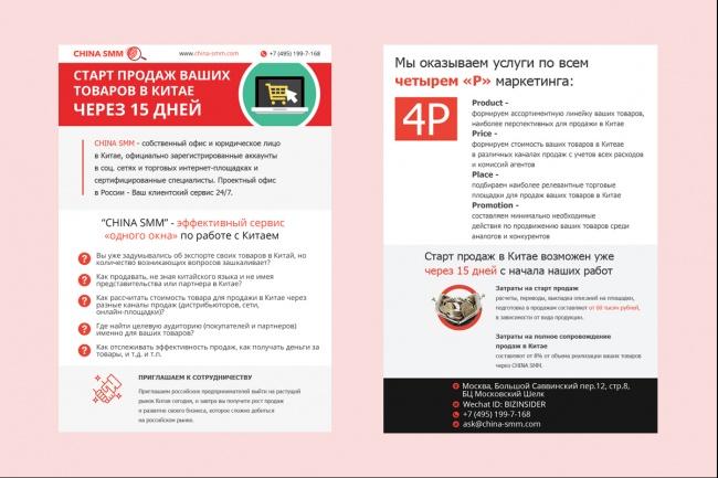Дизайн постера 36 - kwork.ru
