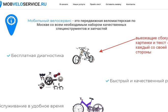 Лендинг для любых целей на Wordpress 52 - kwork.ru