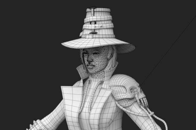 3D персонаж для игрового проекта 3 - kwork.ru