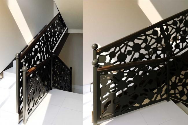 Сделаю 3d модель кованных лестниц, оград, перил, решеток, навесов 17 - kwork.ru