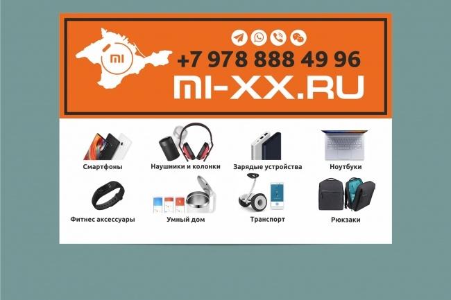 Наружная реклама, билборд 58 - kwork.ru