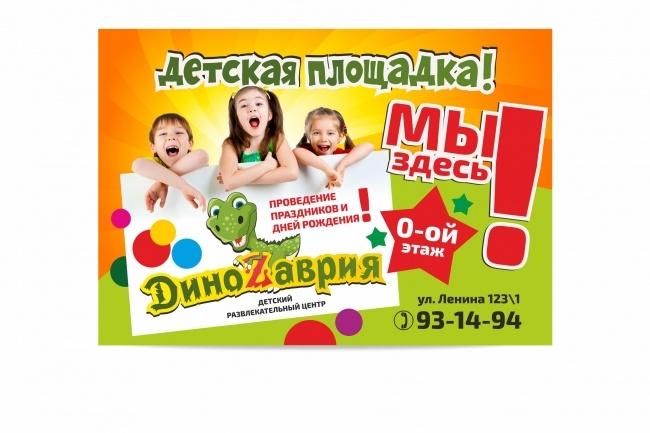 Наружная реклама, билборд 46 - kwork.ru