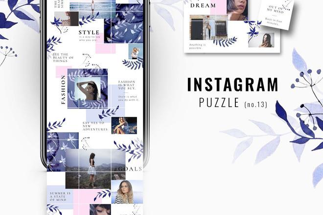 25000 шаблонов для Instagram, Вконтакте и Facebook + жирный Бонус 18 - kwork.ru
