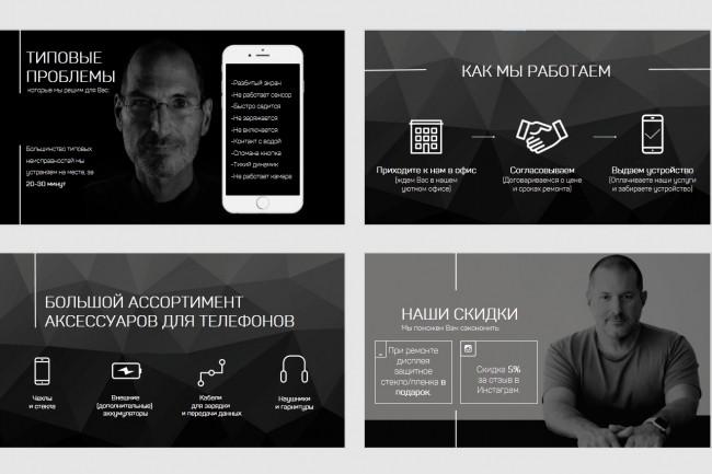 Красиво, стильно и оригинально оформлю презентацию 160 - kwork.ru