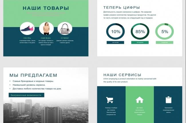 Красиво, стильно и оригинально оформлю презентацию 181 - kwork.ru