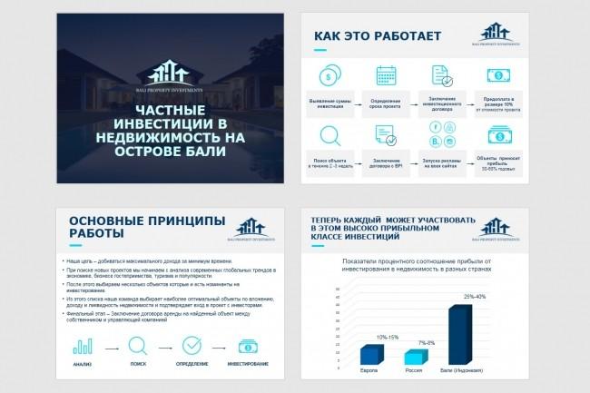 Красиво, стильно и оригинально оформлю презентацию 154 - kwork.ru