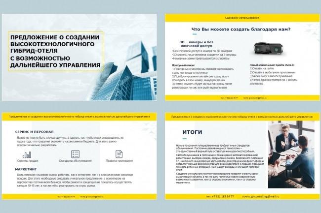Красиво, стильно и оригинально оформлю презентацию 155 - kwork.ru