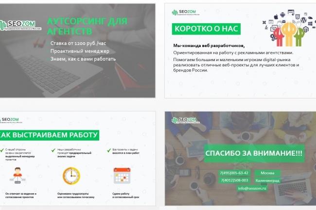 Красиво, стильно и оригинально оформлю презентацию 176 - kwork.ru