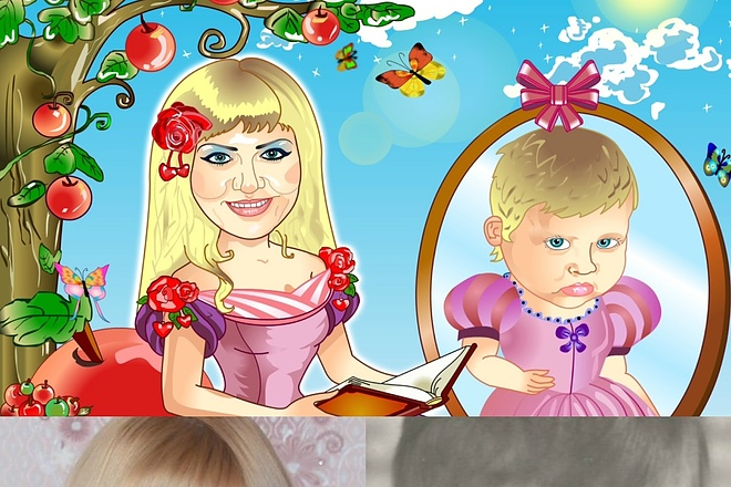 Нарисую портрет - шарж по фото 7 - kwork.ru