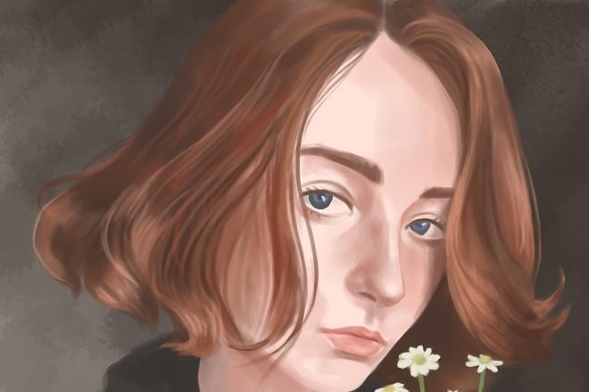 Яркий цифровой портрет по фото 5 - kwork.ru