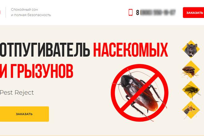 Копия товарного лендинга плюс Мельдоний 37 - kwork.ru