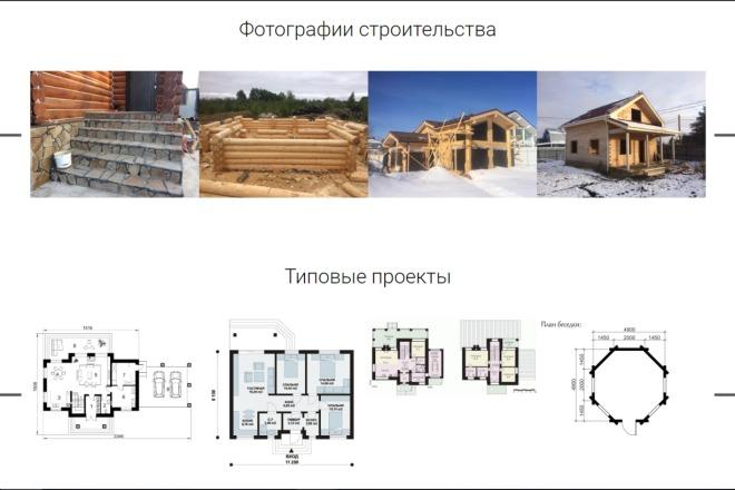 Верстка по дизайн-макету 1 - kwork.ru
