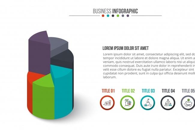 Набор инфографики. 13 тематик, 800 шаблонов, 2 пакета иконок 14 - kwork.ru