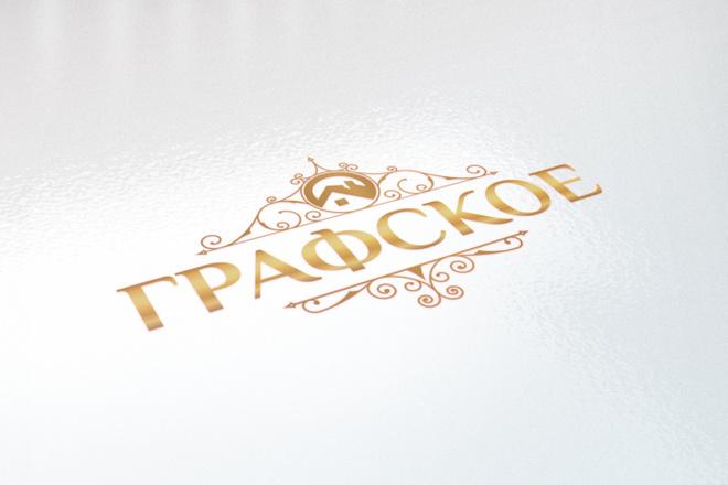 Логотип в 3 вариантах, визуализация в подарок 39 - kwork.ru
