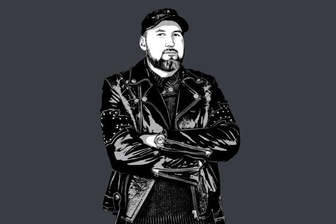 Качественный поп-арт портрет по вашей фотографии 3 - kwork.ru
