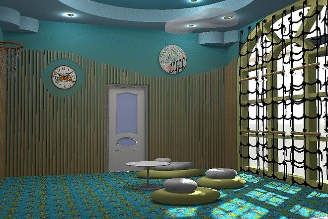 3D визуализация помещений 5 - kwork.ru