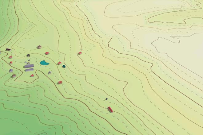 Выполню трехмерную модель местности 9 - kwork.ru