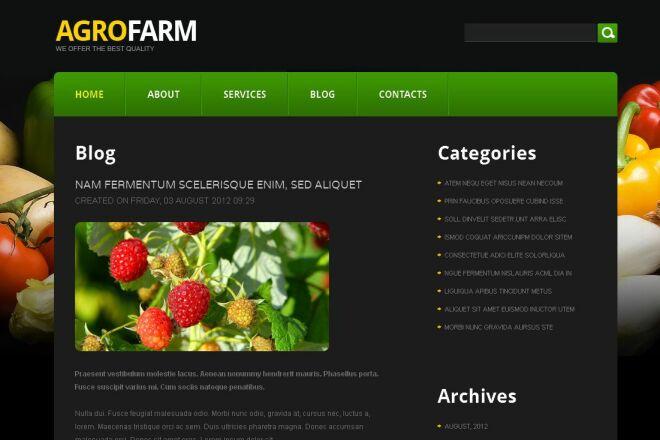 Разработка сайта на базе CMS Joomla 3 - kwork.ru