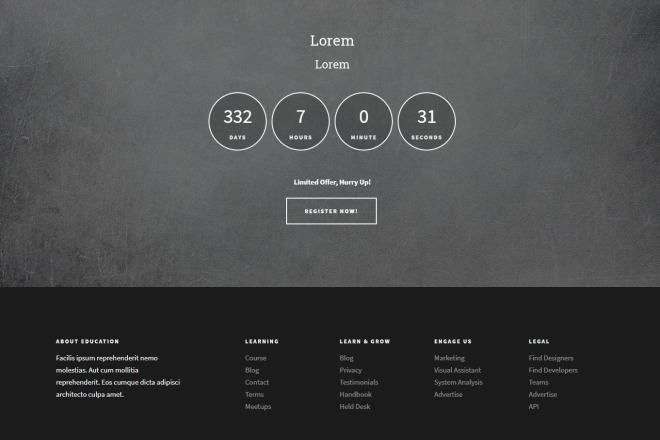 Создам сайт-одностраничник 5 - kwork.ru