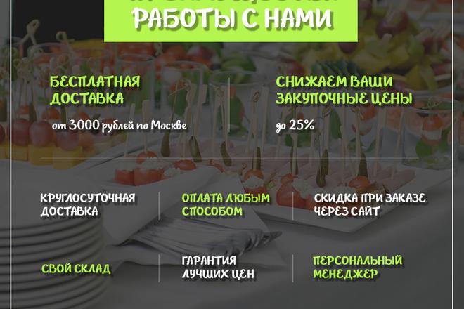 Дизайн одного блока Вашего сайта в PSD 79 - kwork.ru
