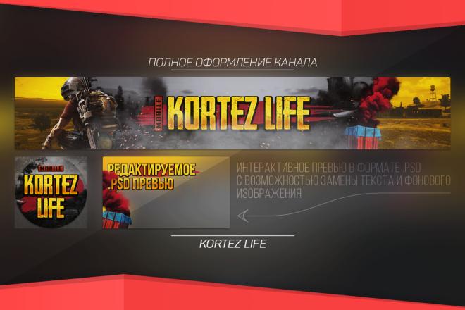 Полностью оформлю Ваш YouTube канал 2 - kwork.ru