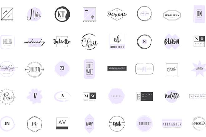 Сделаю качественный логотип по шаблону за 20 минут 2 - kwork.ru