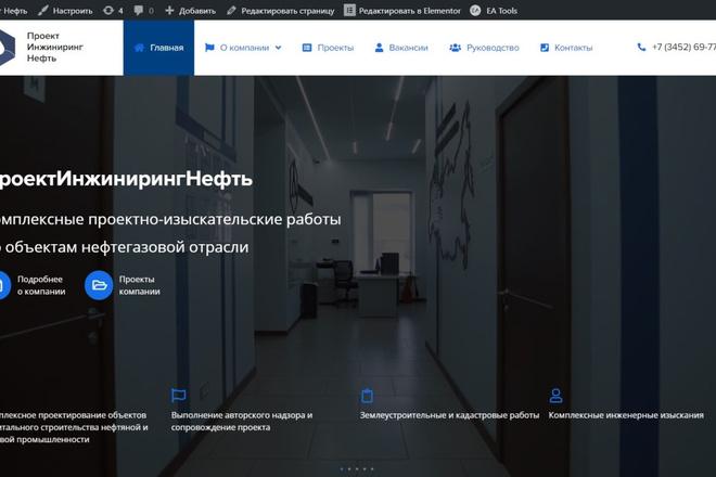 Сделаю классный Лендинг на Elementor Pro 17 - kwork.ru
