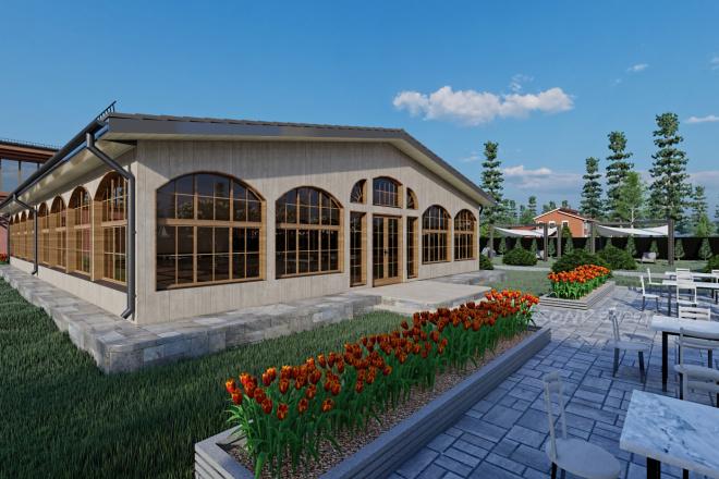 Фотореалистичная 3D визуализация экстерьера Вашего дома 67 - kwork.ru