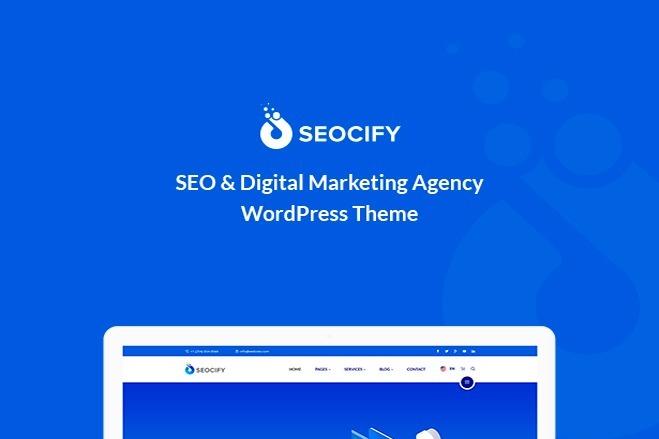 Шаблон SEO и агентства цифрового маркетинга с визуальным редактором 7 - kwork.ru