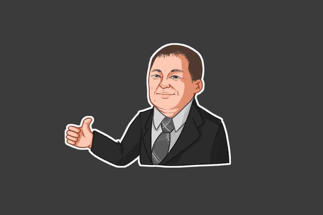 Нарисую стикеры для Telegram, WhatsApp, под печать 13 - kwork.ru