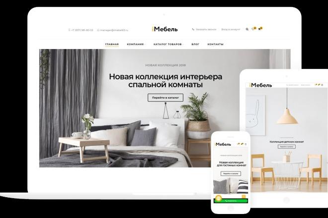 Разработка интернет-магазина на Wordpress под ключ на премиум шаблоне 2 - kwork.ru