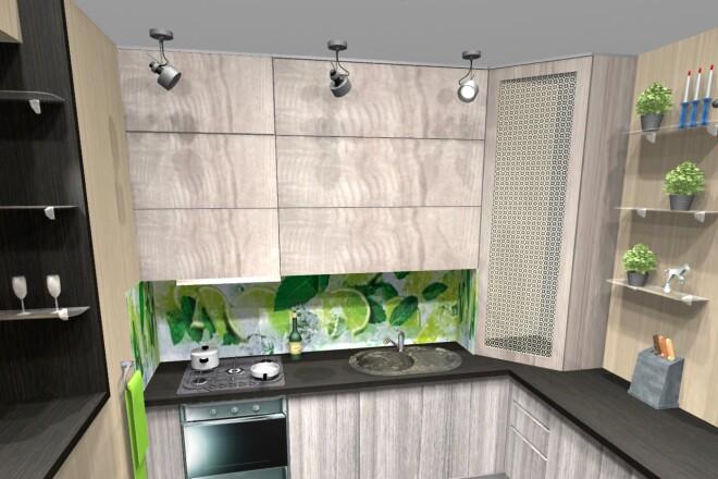 Проектирование корпусной мебели 25 - kwork.ru