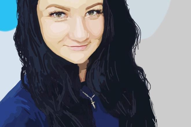 Нарисую портрет в растровой или векторной графике 6 - kwork.ru