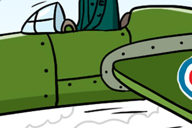 Нарисую простую иллюстрацию в жанре карикатуры 37 - kwork.ru