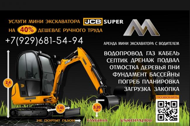 Разработаю дизайн билборда 44 - kwork.ru