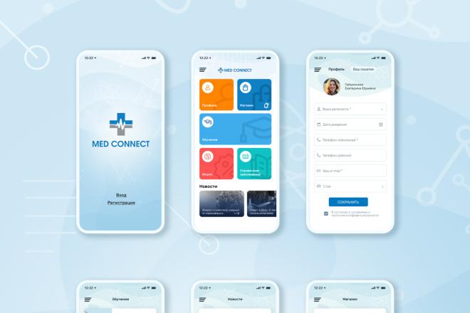 UX UI дизайн приложения для ios и android 2 - kwork.ru