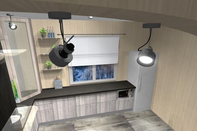 Проектирование корпусной мебели 19 - kwork.ru