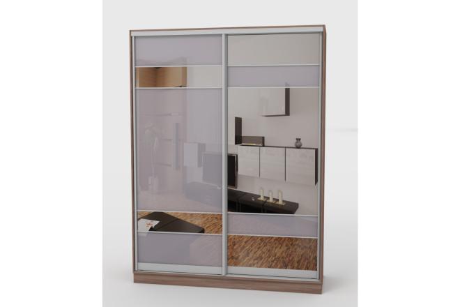 Визуализация мебели, предметная, в интерьере 4 - kwork.ru