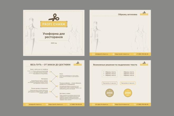 Дизайн или редакция вашей презентации в Power Point 1 - kwork.ru