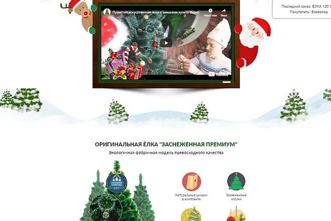 Сделаю под заказ Landing Page + Бонус Дизайн Премиум 8 - kwork.ru